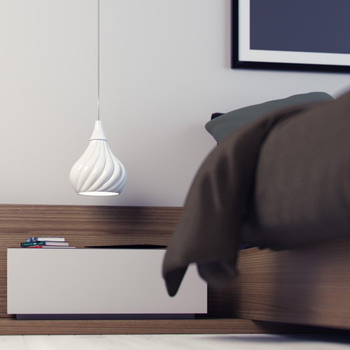 Изящный светильник для дома от Энрико Занолла (Enrico Zanolla).