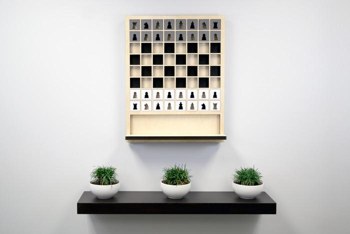 Настенная шахматная доска от Шона Коннелла (Sean Connell).