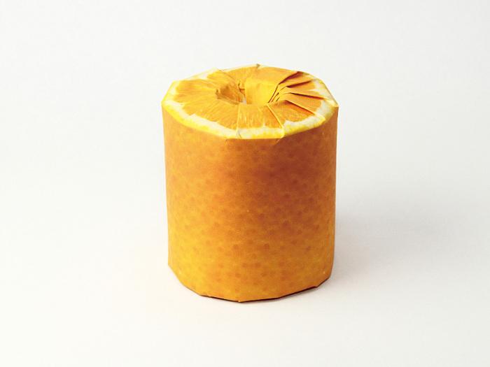 Апельсиновая упаковка от Latona Marketing Inc.