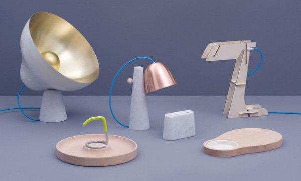 Мраморная коллекция предметов домашнего обихода от ZPSTUDIO.