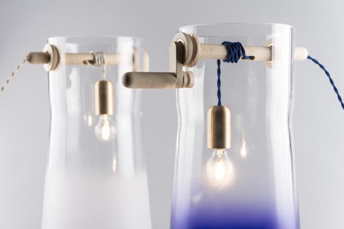 Светильники в форме колодцев от словацкой дизайн-студии.