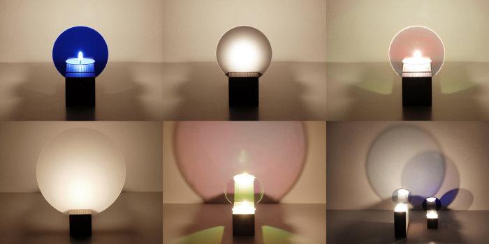 Игра со светом в коллекции оригинальных подсвечников от Thier&VanDaalen.