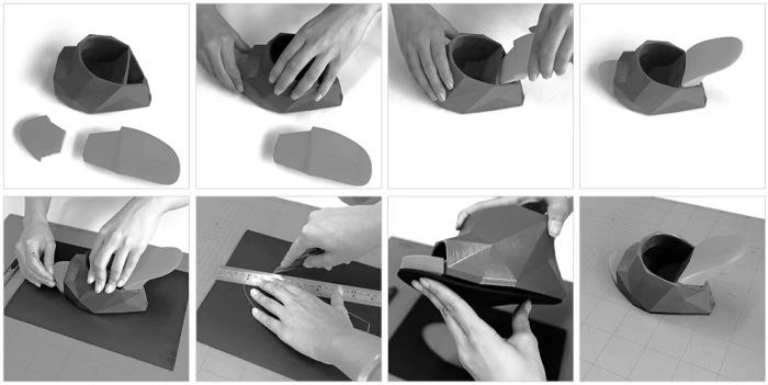 Этапы создания оригинальных женских туфель от финского дизайнера.