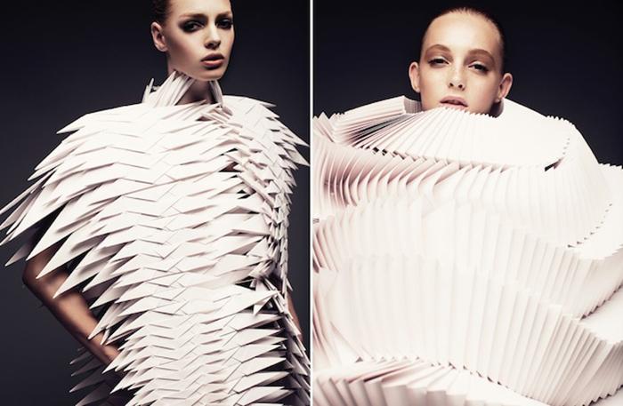 Экстравагантные наряды от польского дизайнера.