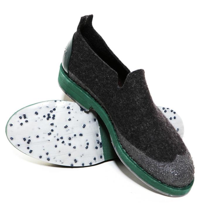 Оригинальные ботинки из войлока от Woolings.