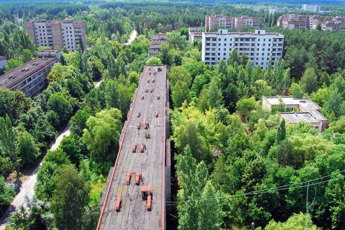 Заброшенный город Припять, Украина.
