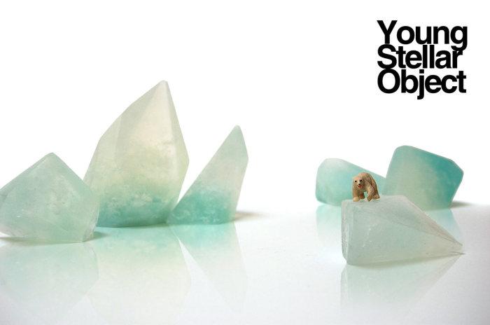 Оригинальное мыло в форме ледников Арктики от Уиллиама Лии (William Lee).