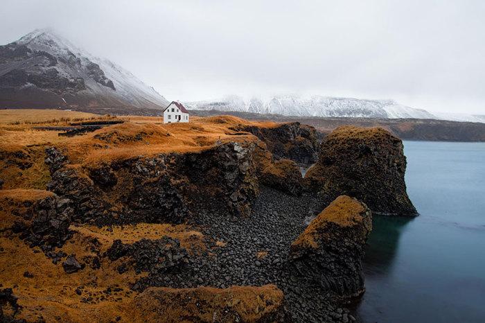 Arnarstapi, Исландия.