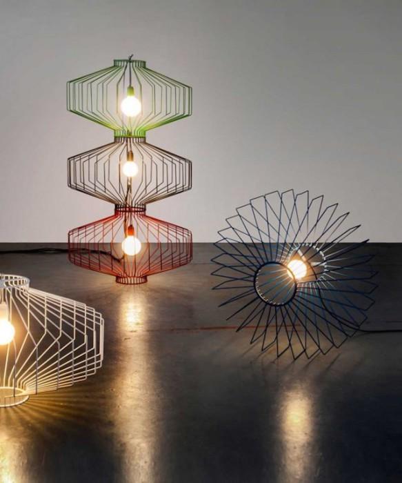 Очаровательные лампы от Studio Beam.