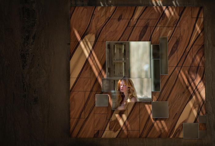 Оригинальный дизайн зеркала от Amarist.