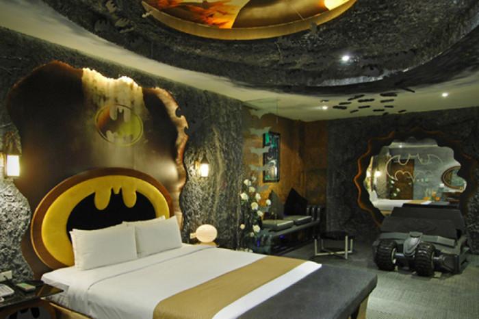 Спальня для настоящего супер-героя.