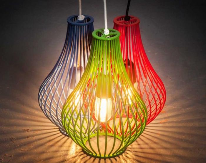 Оригинальные дизайнерские светильники от Studio Beam.