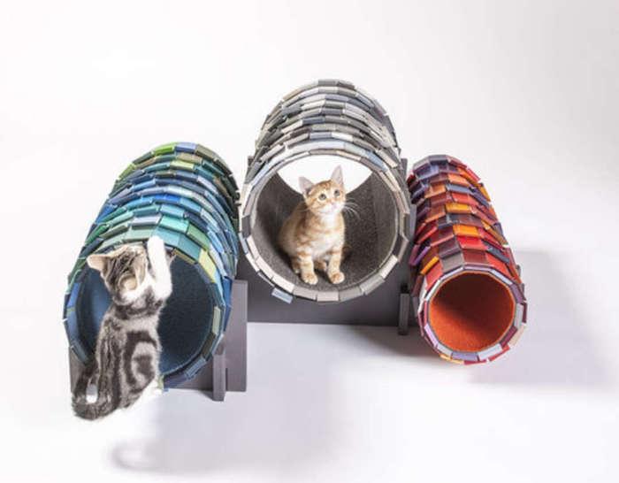 Домики для бродячих котов от NAC Architecture.