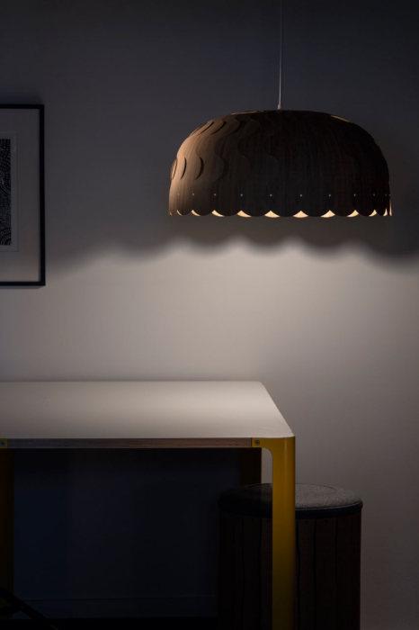 Потолочный светильник для дома от Дэвида Трабриджа (David Trubridge).