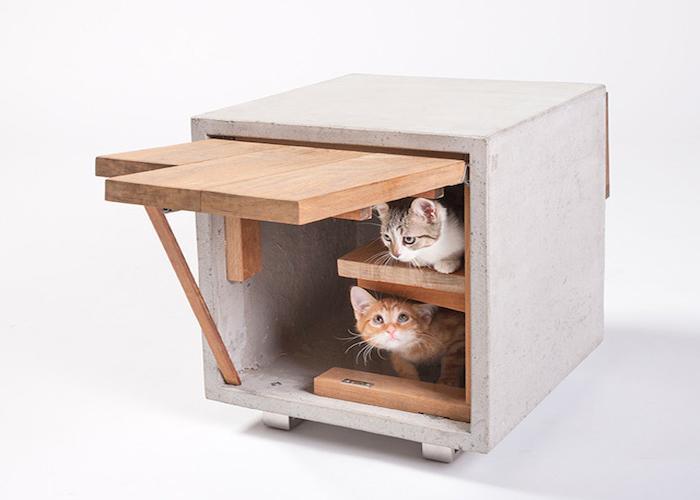 Кошачий домик от Standard Architecture.