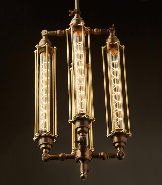 Оригинальные осветительные приборы от Edison Light Globes.