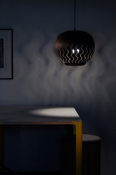 Модель оригинального светильника под названием Belle.