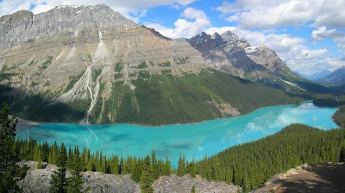 Озеро Peyto, Канада.