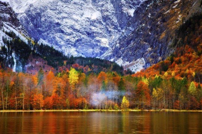 Потрясающие пейзажи Австрии.