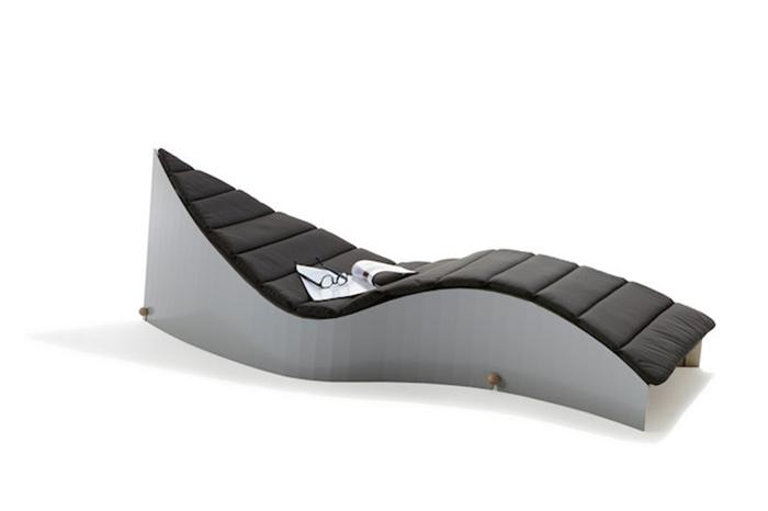 Современная софа в стиле минимализм.