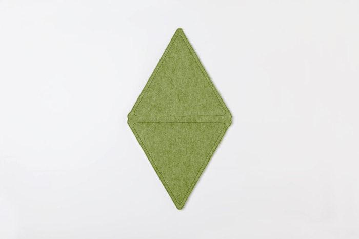 Модули, из которых складывается полноценный плед-ковер.