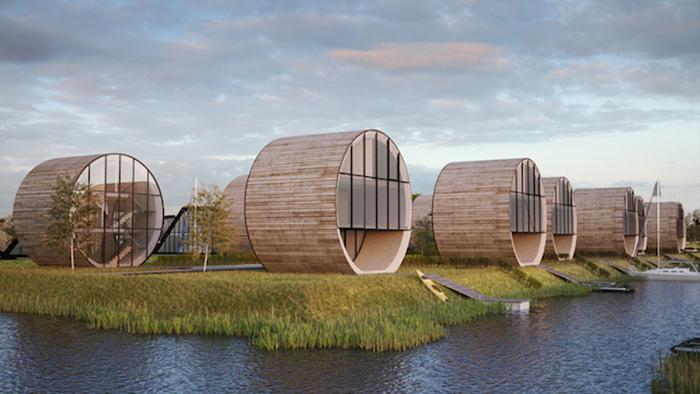Неожиданный архитектурный проект от Do Architects.