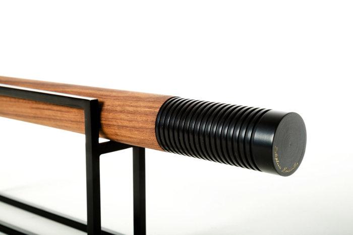 Необычная деревянная скалка от Stephanie Moussallem.