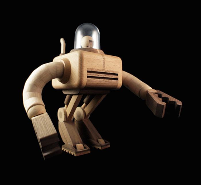 Забавные игрушечные роботы от Loulou & Tummie.