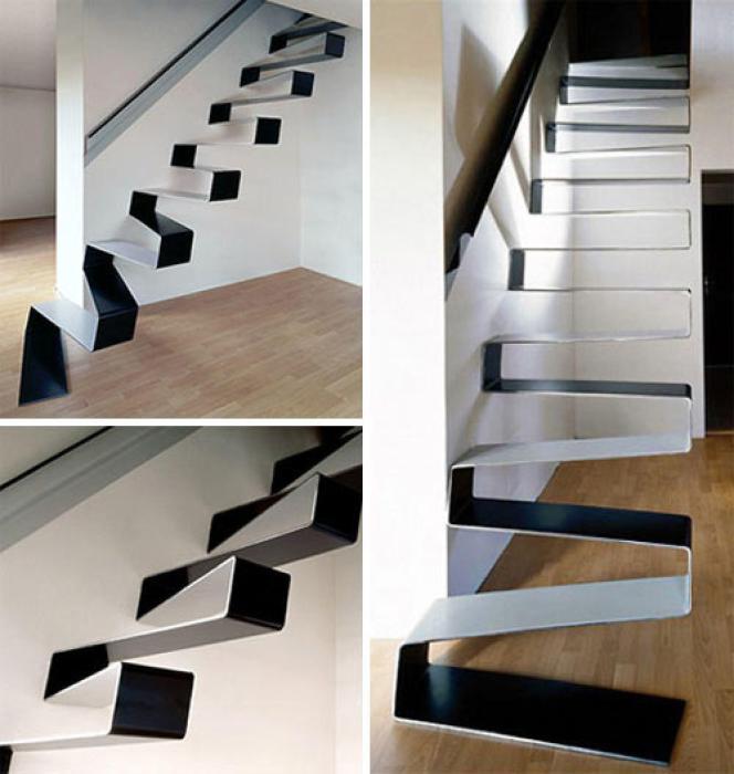 Дизайн лестницы от HSH Architects.