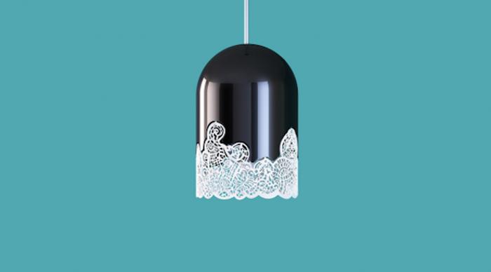 Элегантный кружевной светильник от Linlin и Pierre-Yves Jacques.