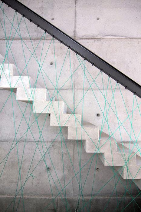 Дизайн бетонной лестницы от МО Architekten.