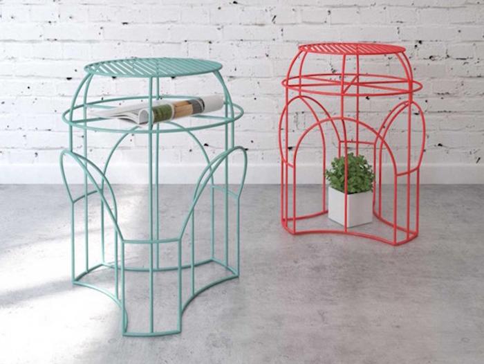 Оригинальный кофейный столик от Levantin Design.