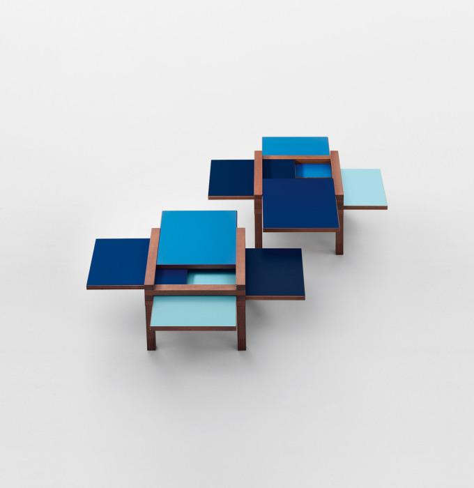 Практичный дизайн журнального столика от Hexa Table.