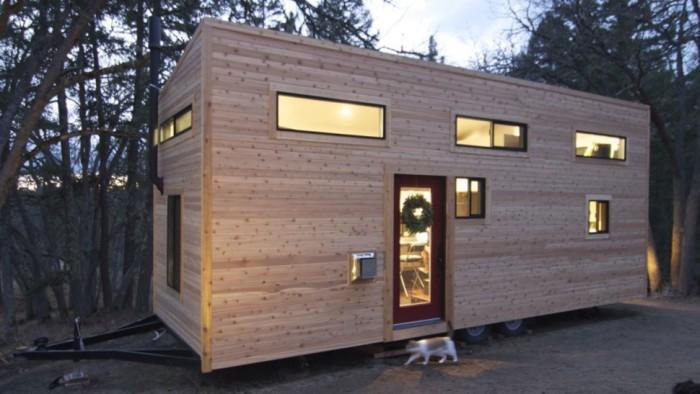 Уютный домик на колесах семьи Morrisons.