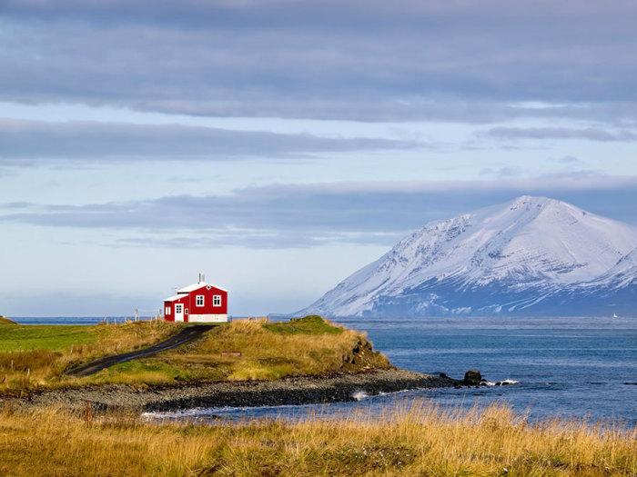 Красный дом, Исландия.