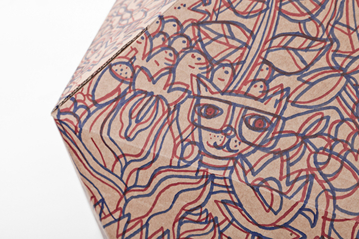 Дизайн кошачьего домика от Дельфина Курье (Delphine Courier).