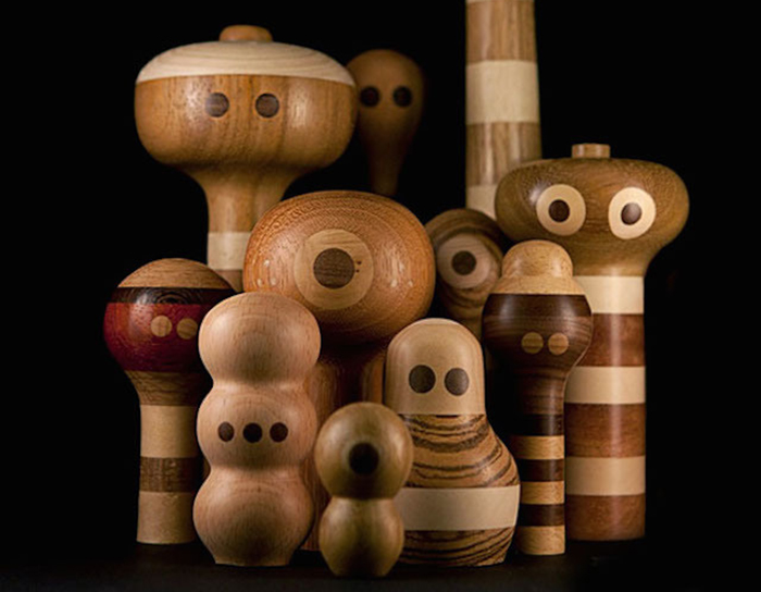 Деревянные игрушки от Loulou & Tummie.