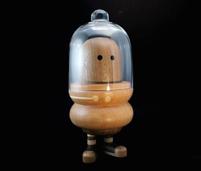 Забавные деревянные игрушки от Loulou & Tummie.