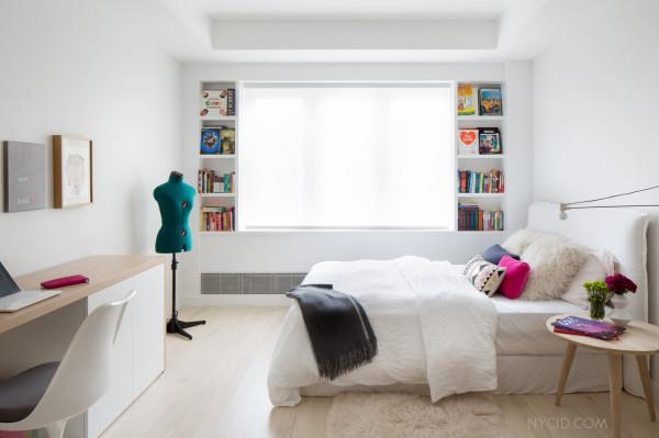 Яркие детали в интерьере одной из спален.
