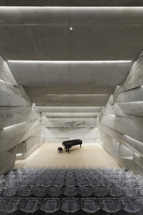 Роскошный концертный зал от Питера Хэмерла (Peter Haimerl).