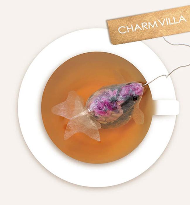 Чайные пакетики от Charm Villa.