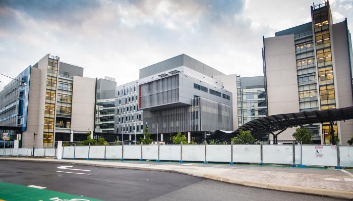 Больница Голд-Кост (Gold Coast University Hospital).