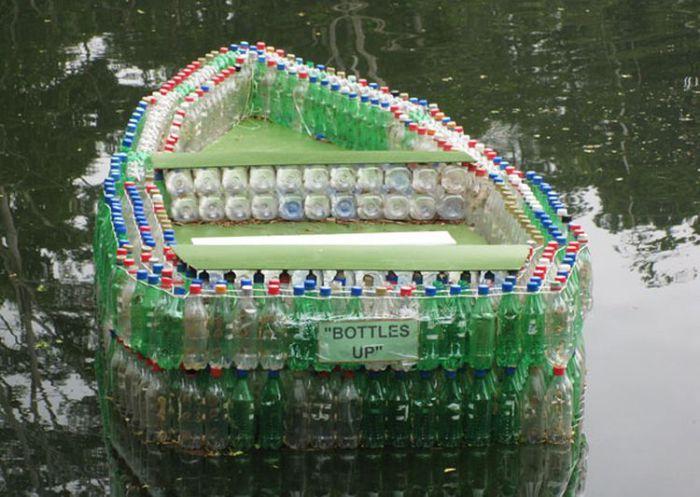8 оригинальных самодельных лодок, которые может сделать каждый.