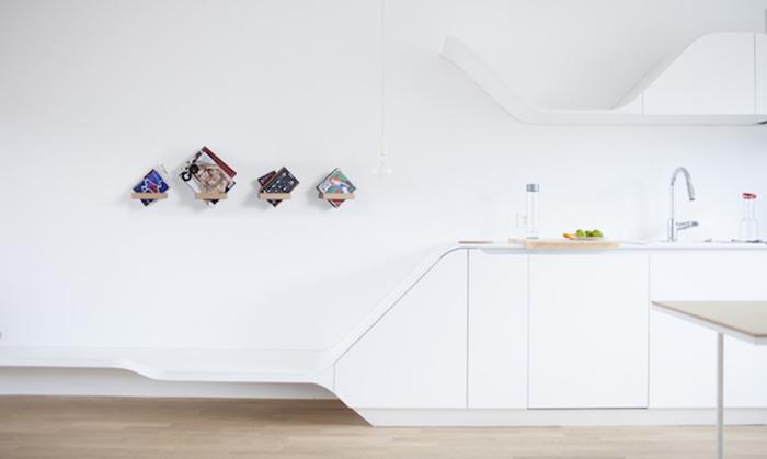 Полки от Лука Пирнат (Luka Pirnat) - стильный и функциональный элемент декора.