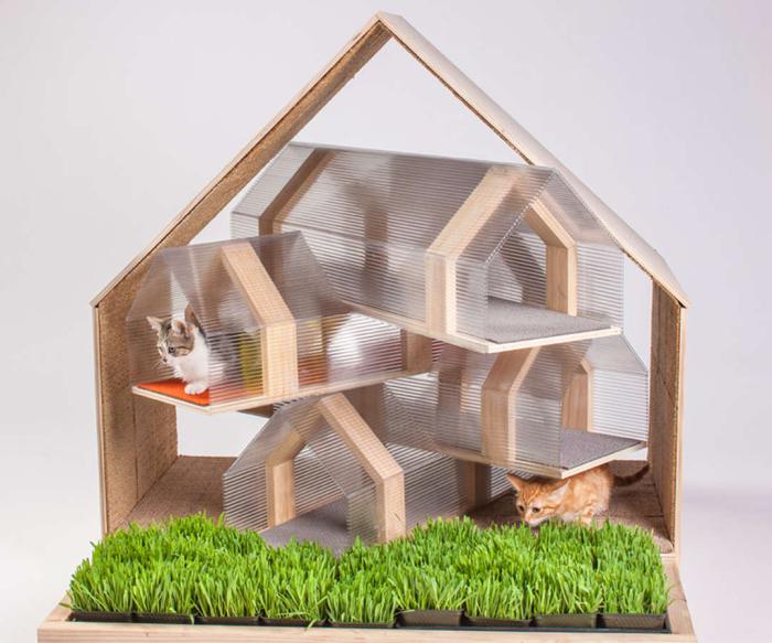 Уютный домик для бездомных котов от HOK.