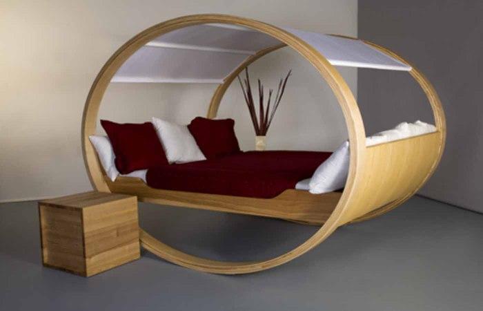 Самые оригинальные и необычные кровати от дизайнеров со всего мира.