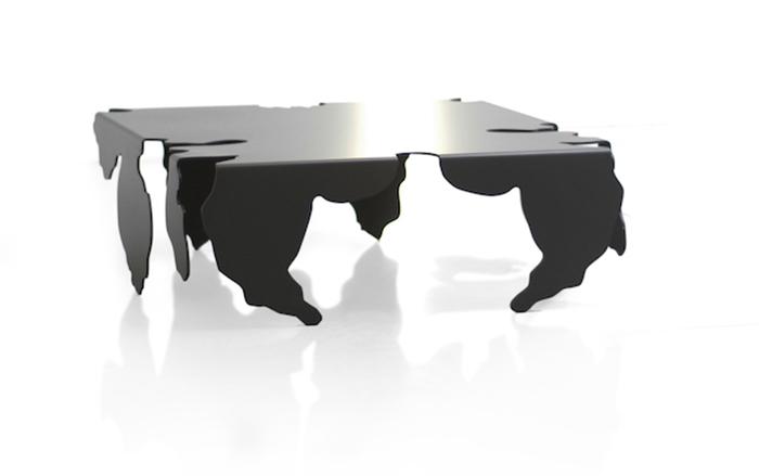 Неординарный стол от лондонской дизайн-студии.