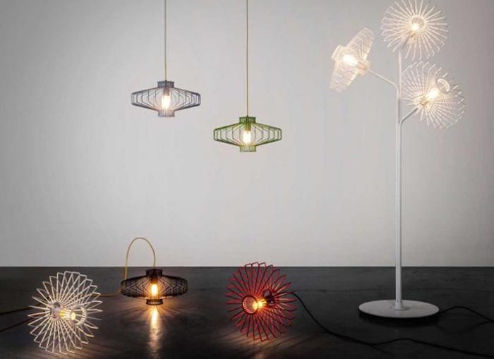 Коллекция стильных светильников для дома.