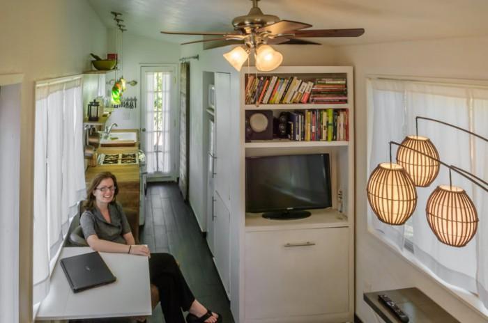 Дизайн небольшого домика от Macy Miller.