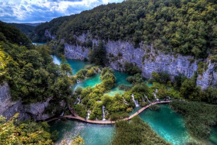 Плитвицкие озера, Хорватия.